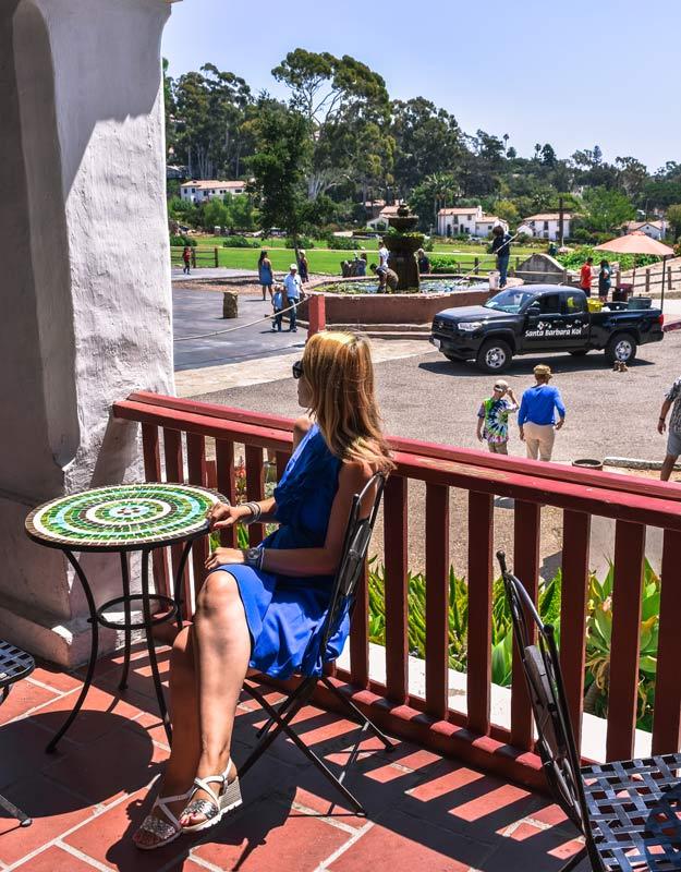 Esterno della Missione di Santa Barbara