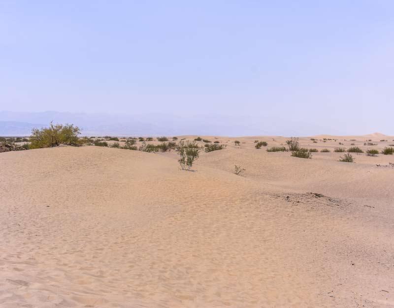 Le dune di sabbia della Death Valley