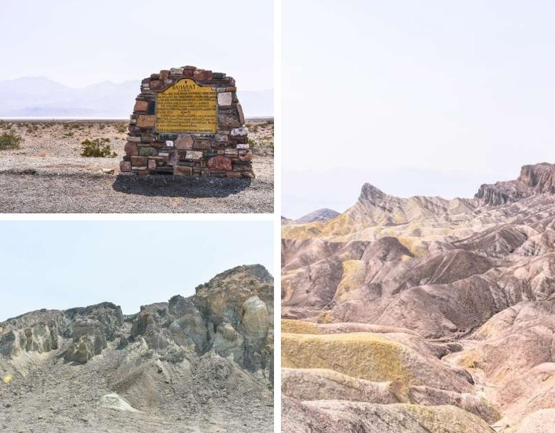 Panorami della Valle della Morte