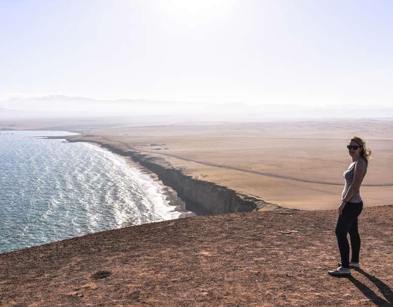 Ricordi del viaggio in Perù: Paracas