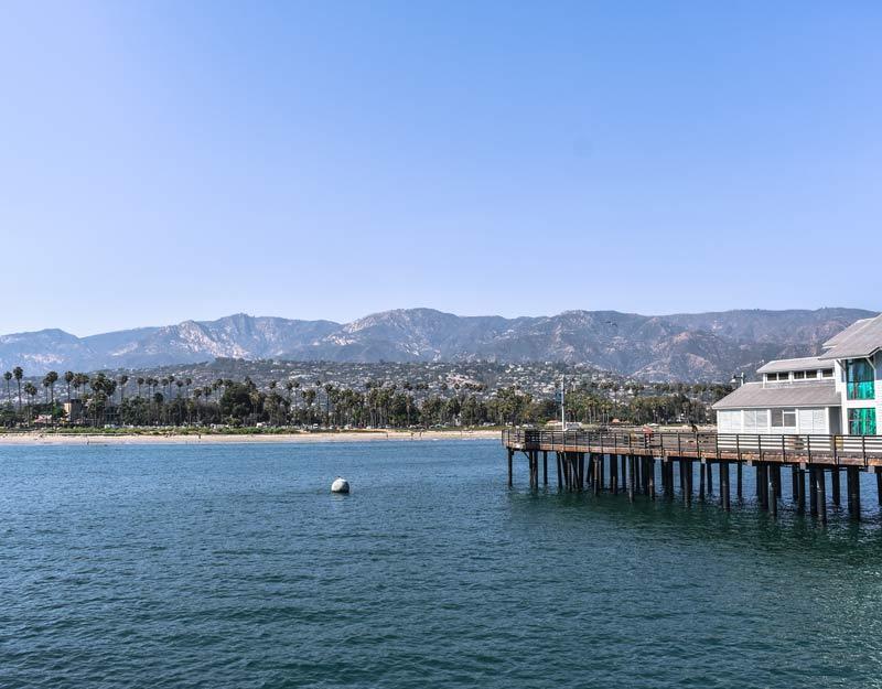 Cosa vedere a Santa Barbara: il molo Stearns Wharf