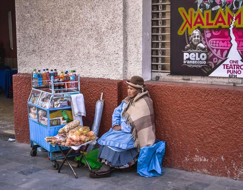 Street food in Perù