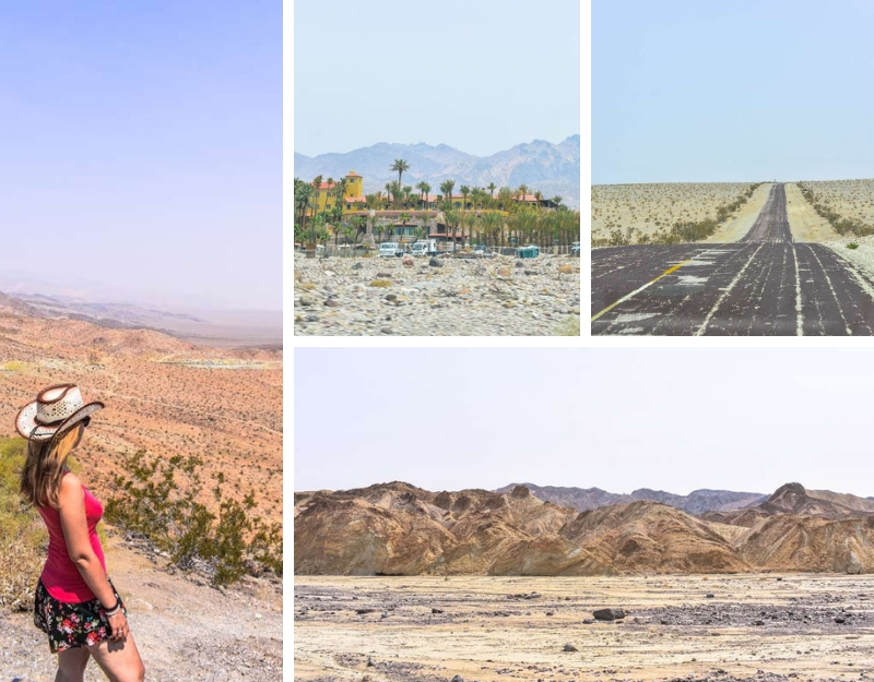 Vista sulla Death Valley