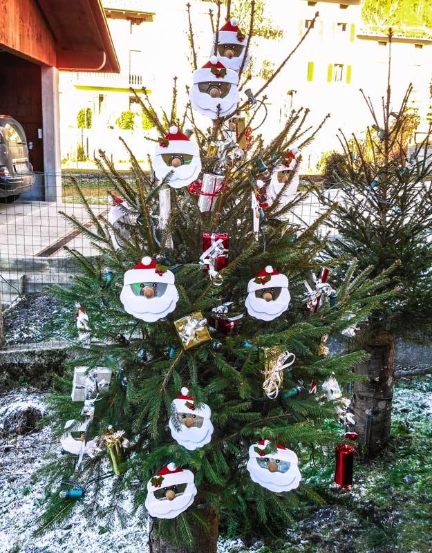 Albero di Natale ad Andreis