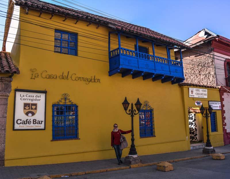 La casa del Corregidor a Puno