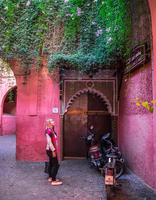 In giro per la Medina di Marrakech