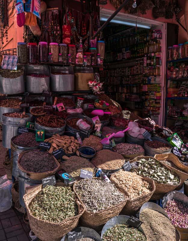 Mercato a Marrakech