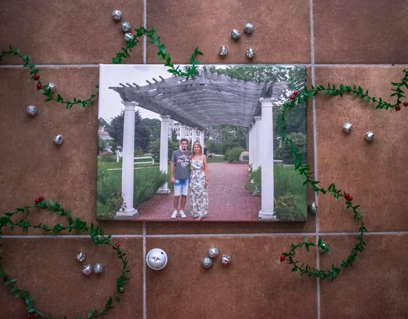 Regali di Natale per viaggiatori: foto su tela