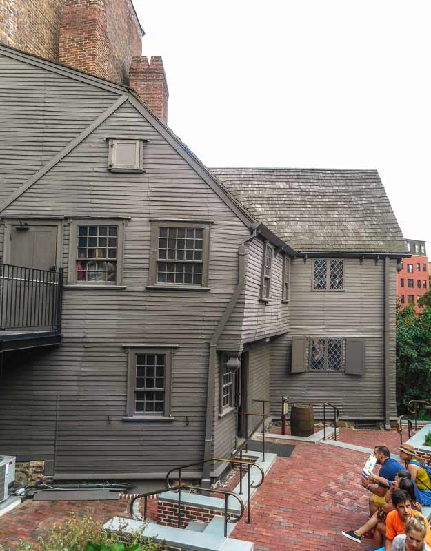Boston in un giorno: la casa di Paul Revere