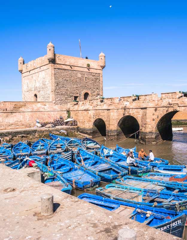 Essaouira in giornata: i bastioni