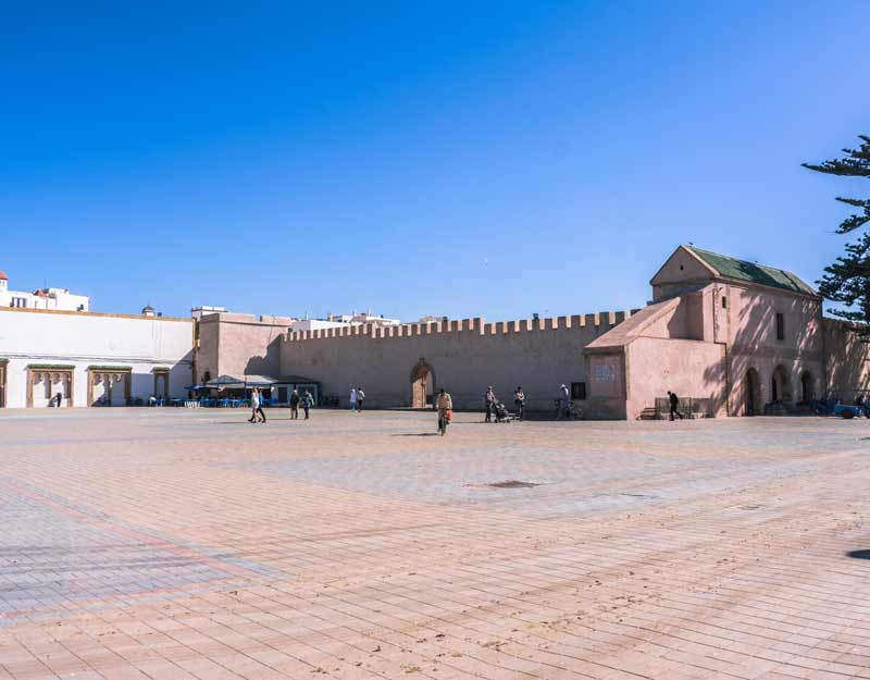 Essaouira in giornata: piazza Moulay Hassan