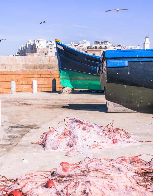 Essaouira in giornata: il porto