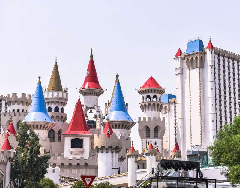 L'hotel Excalibur a Las Vegas