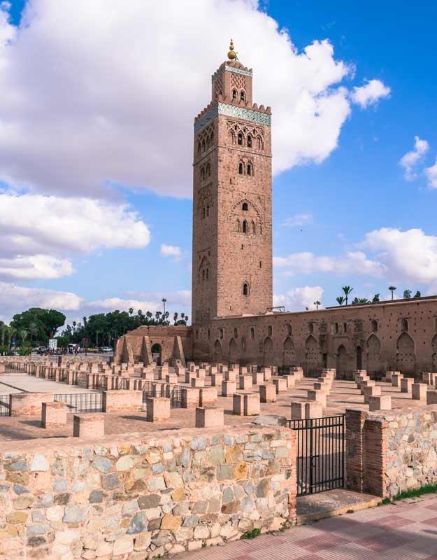 Itinerario a piedi per Marrakech: il minareto della Koutoubia