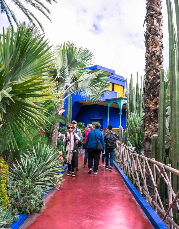 Marrakech in due giorni: i giardini Majorelle