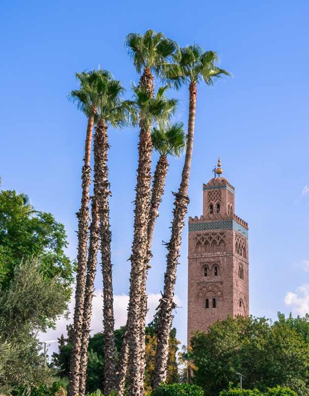 Marrakech in due giorni: la moschea di Koutoubia