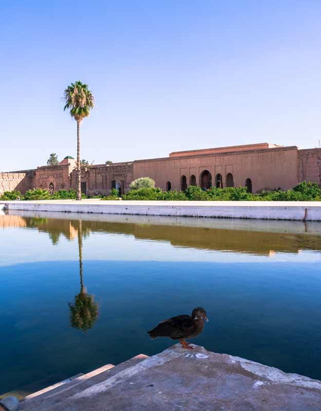Marrakech in due giorni: palazzo El Badi