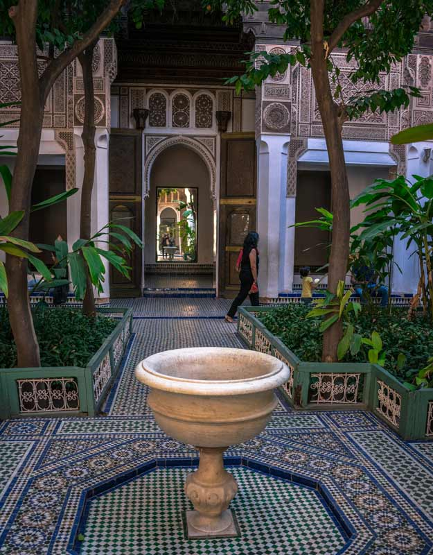 Palazzo Bahia a Marrakech