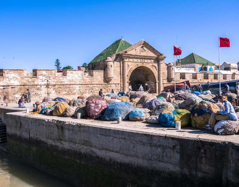 Il porto di Essaouira