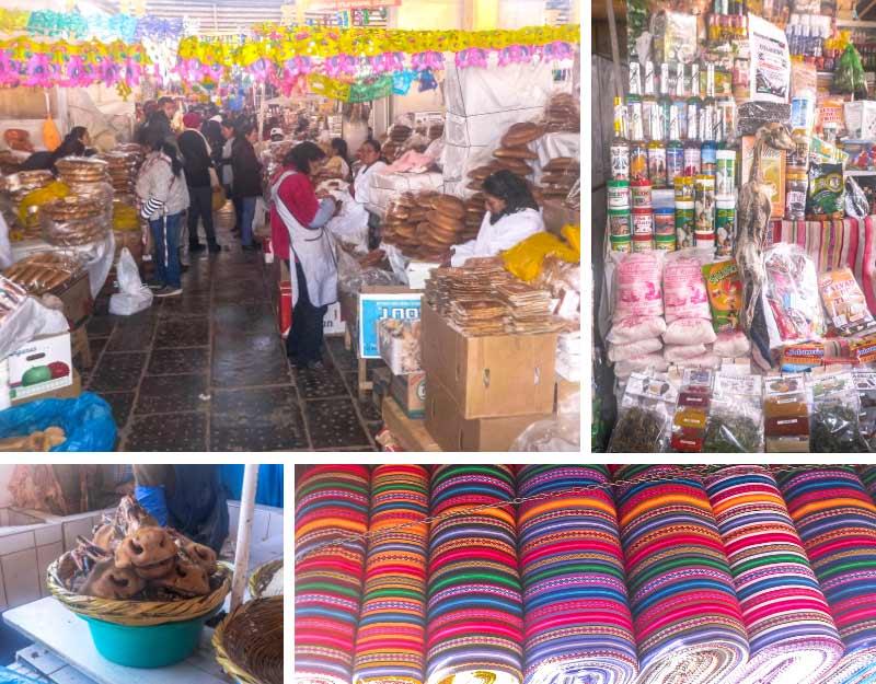 Cosa vedere a Cuzco: mercato San Pedro