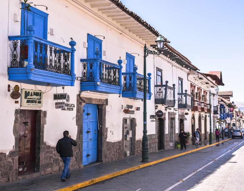 Cuzco, capitale dell'impero inca