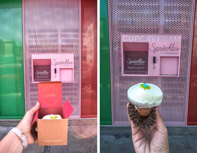 Dolci golosi a Los Angeles: ATM cupcake