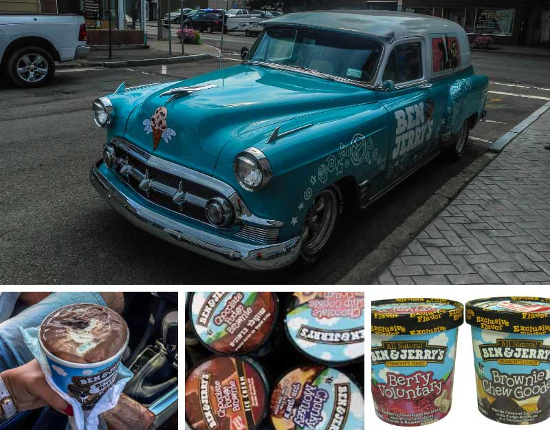 Dolci golosi a Los Angeles: Ben&Jerry's