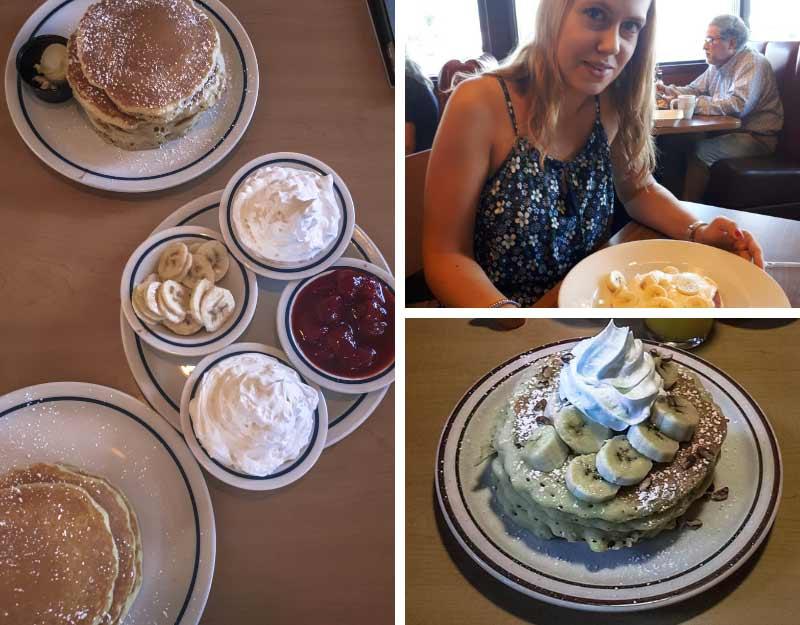 Dolci golosi a Los Angeles: pancake