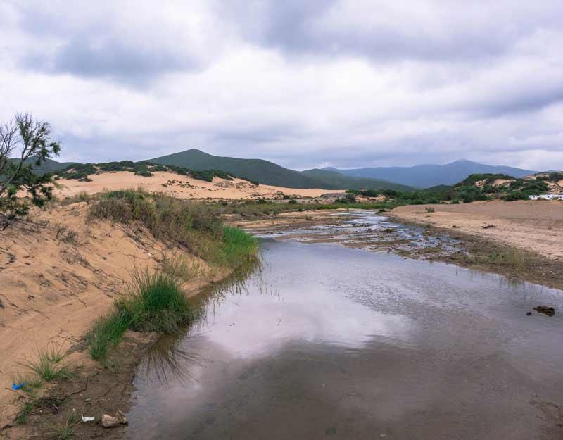 Sardegna fuori stagione: dune di Piscinas
