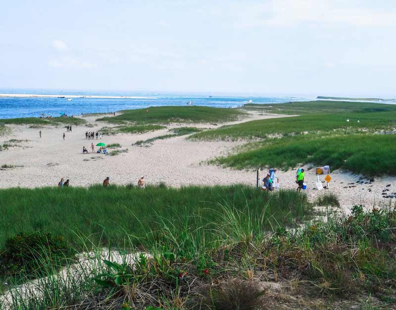 La spiaggia di Chatham a Cape Cod