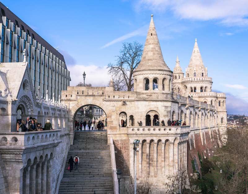Budapest in 2 giorni: Bastione dei Pescatori