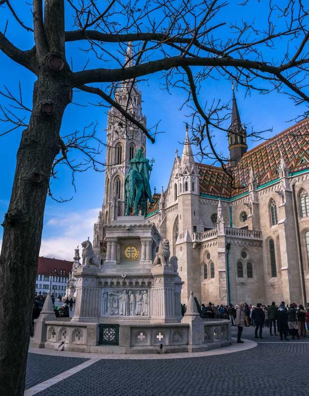 Budapest in 2 giorni: chiesa di Mattia