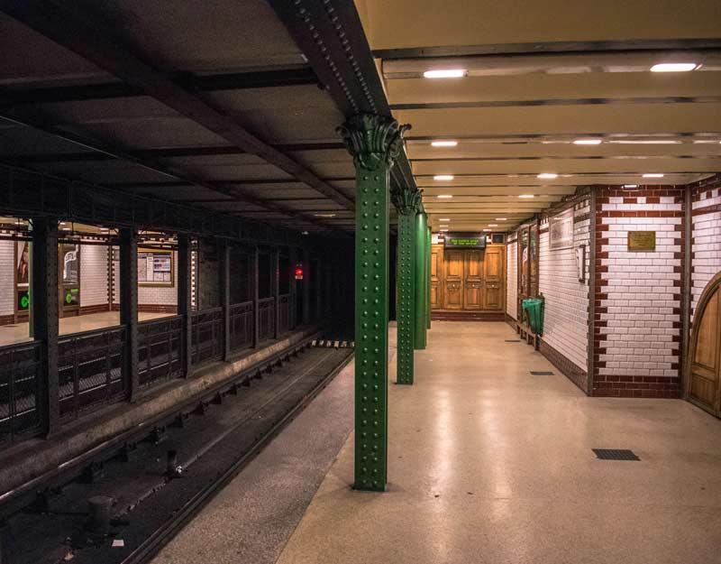 Budapest in 2 giorni: metropolitana