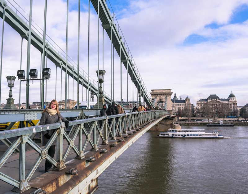 Budapest in 2 giorni: Ponte delle Catene