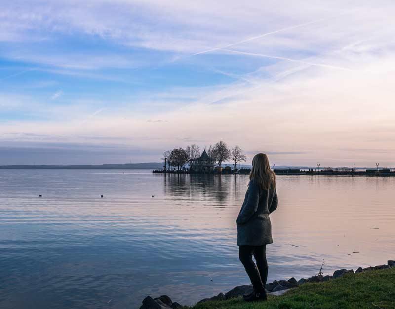 Sul lago Balaton