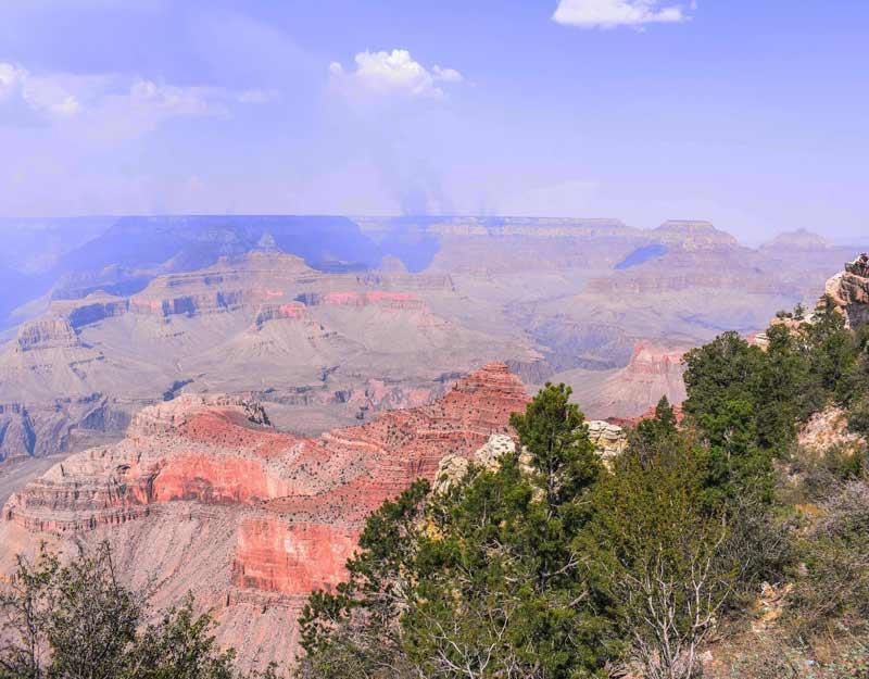 Vista sul Grand Canyon