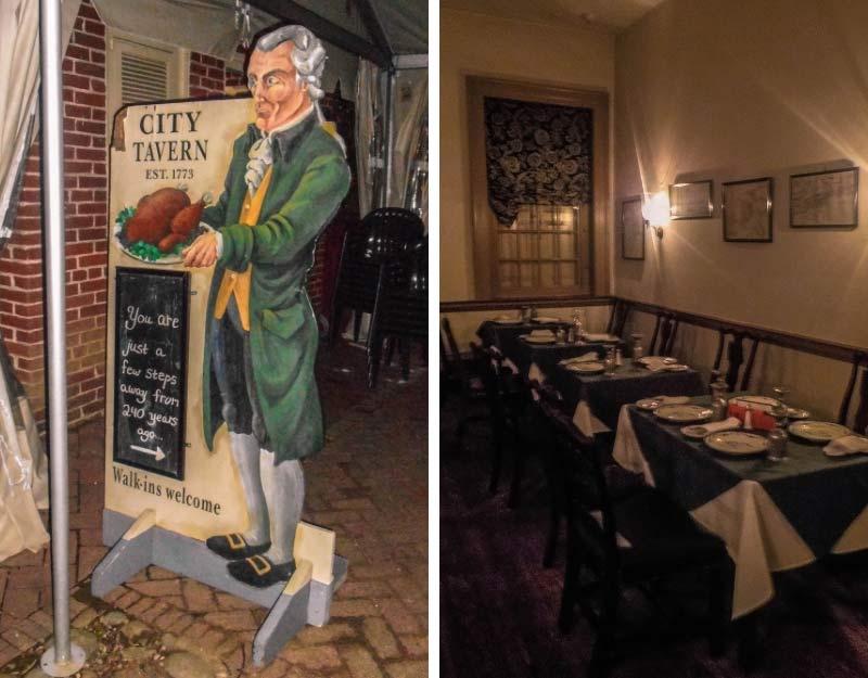 Cosa vedere a Philadelphia: City Tavern
