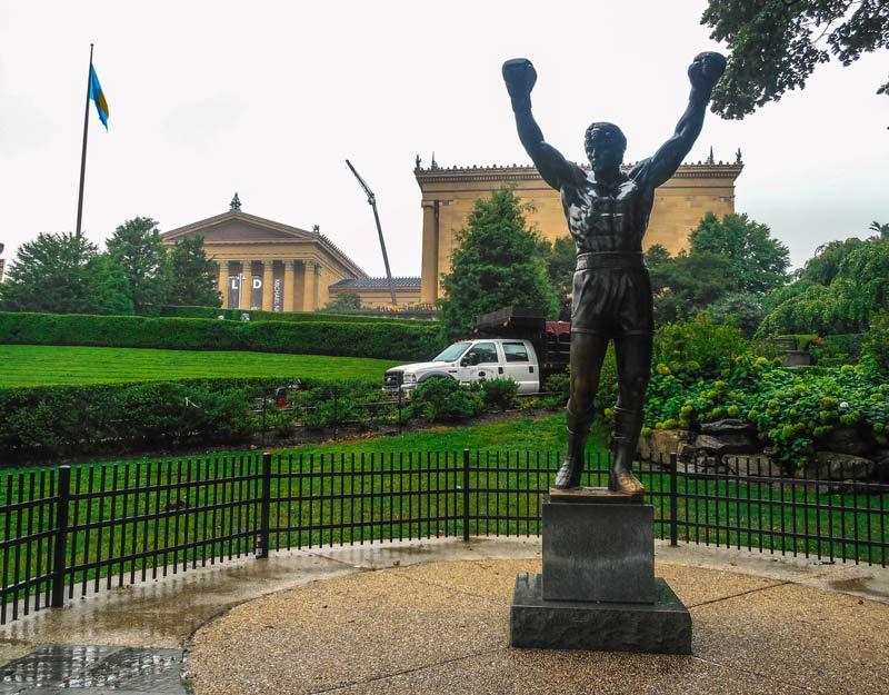 Cosa vedere a Philadelphia: scalinata e statua di Rocky