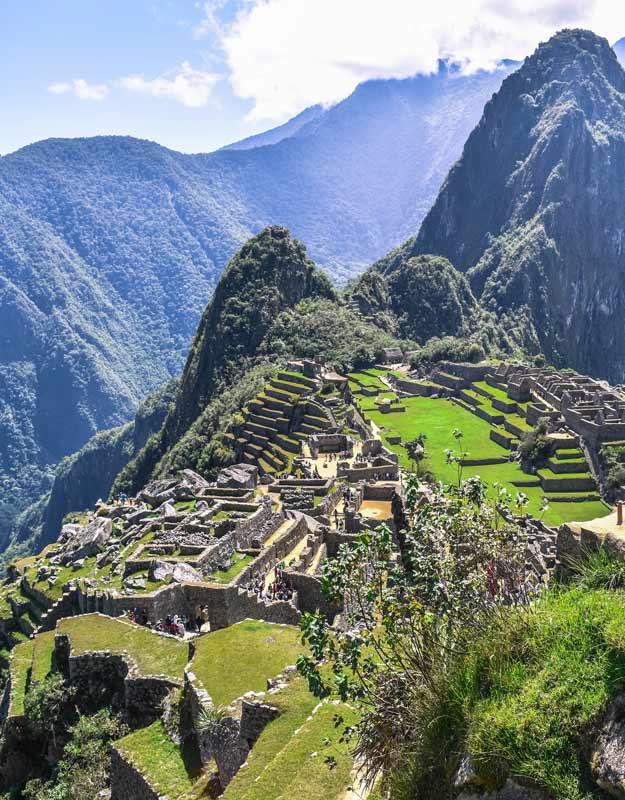 Machu Picchu, una delle sette meraviglie del mondo moderno