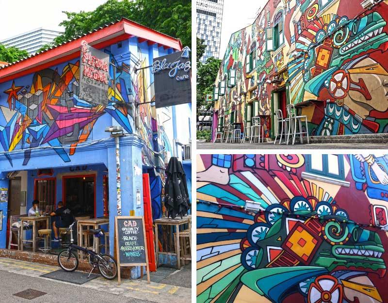 Street art nel mondo: Singapore