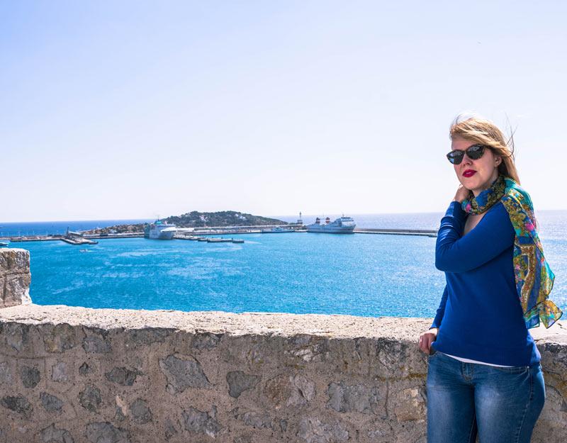 Uno dei baluardi di Ibiza Town