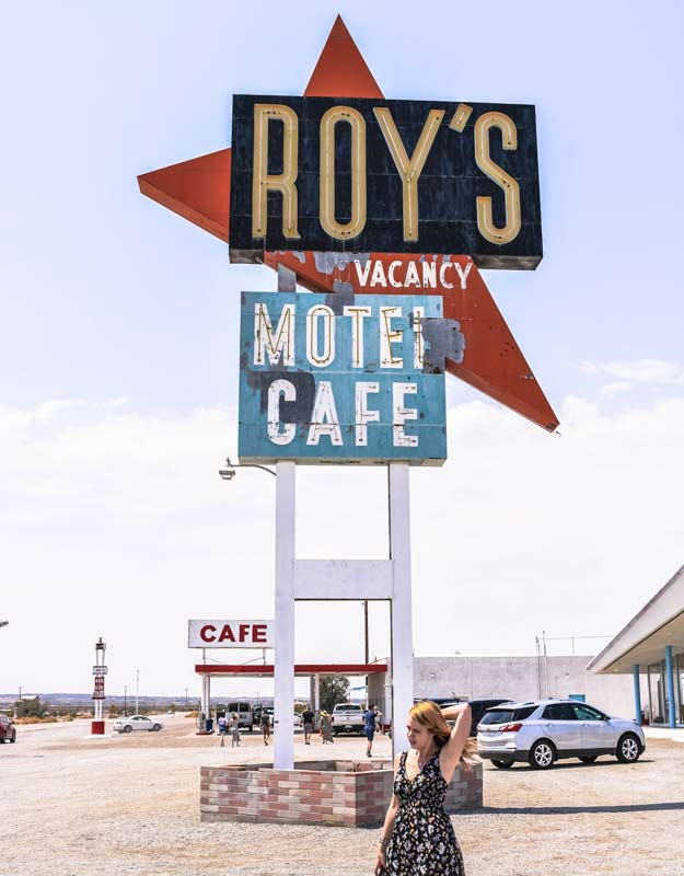 Percorrere la Route 66 in California: Roy's Motel