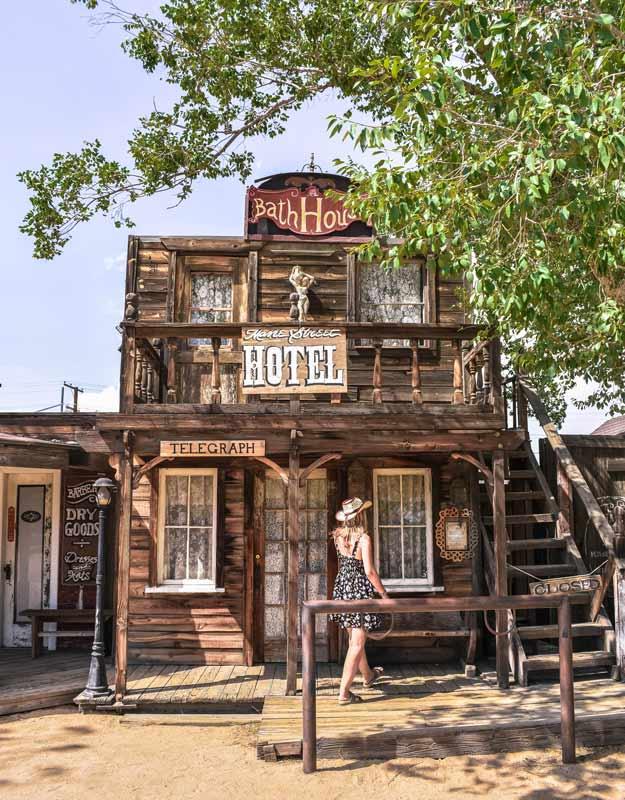 Pioneertown in California: l'hotel