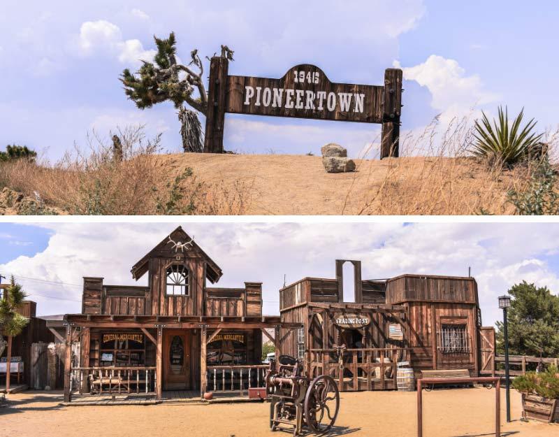 Visitare Pioneertown in California