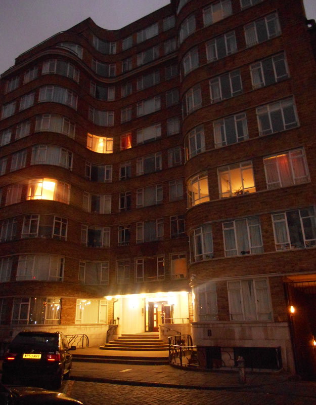 Florin Court, la casa di Poirot a Londra