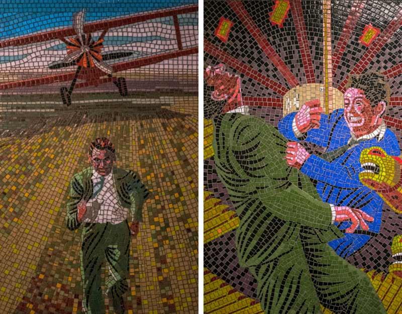 Mosaici di Hitchcock a Londra