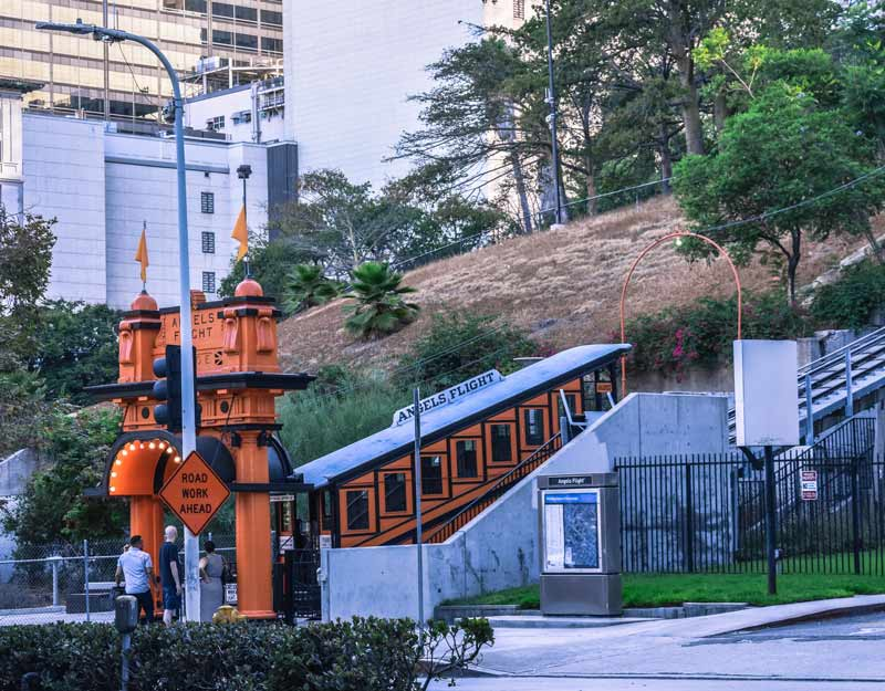 Cosa vedere a Downtown Los Angeles: Angels Flight