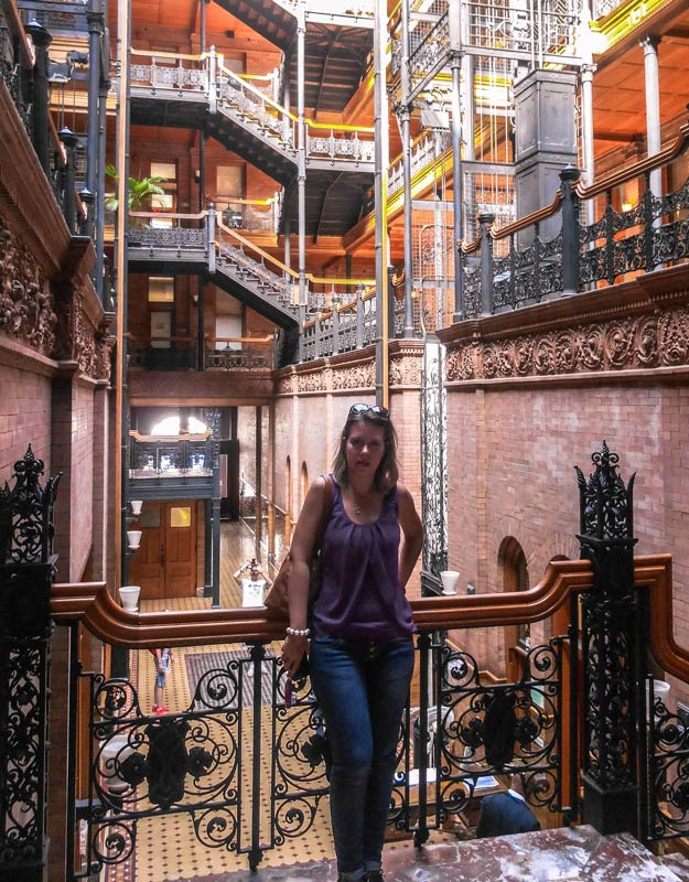 Cosa vedere a Downtown Los Angeles: Bradbury Building