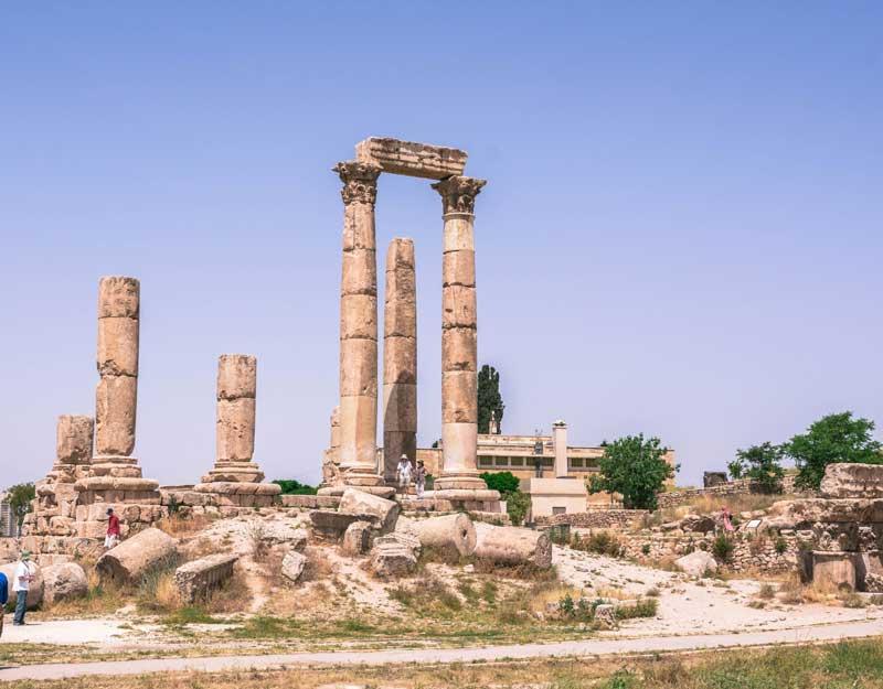 Amman in un giorno: la Cittadella