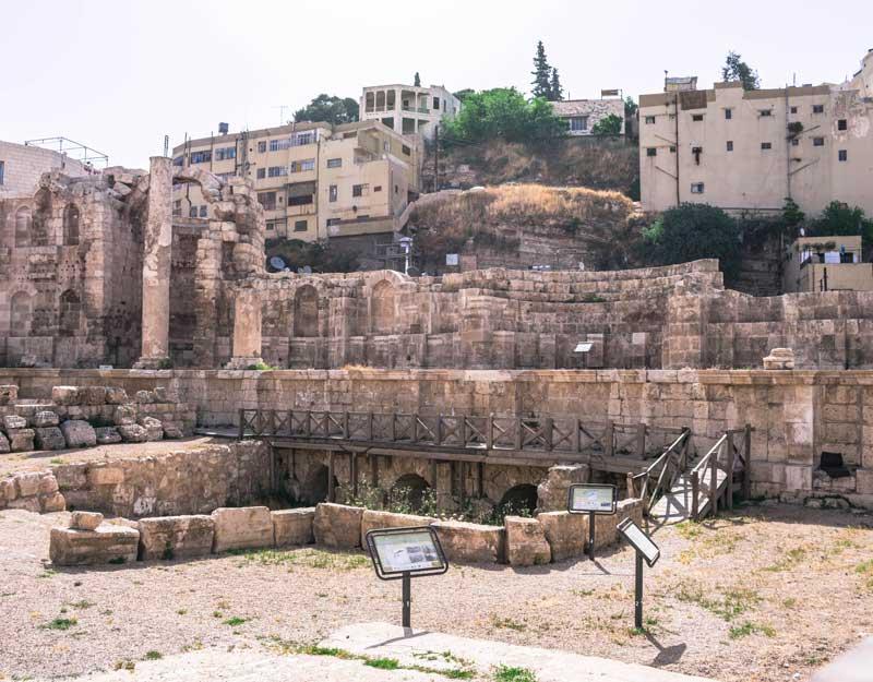 Amman in un giorno: Ninfeo